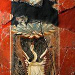 Fresco Cisne de Casa Fortuna