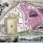 Plano de Cartagena del siglo XVIII