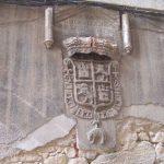 Escudo de Felipe II en las Casas del Rey