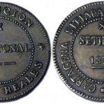 Moneda acuñada en la sublevación cantonal