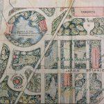 Plano del Ensanche con el proyecto de un Jardín Botánico